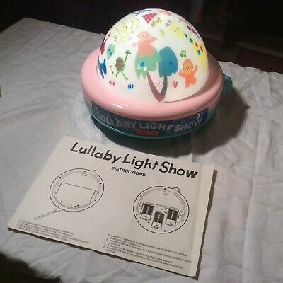Tomy lullaby light show .Vintage 1980s Boxed