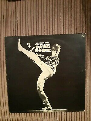 David Bowie The Man Who Sold The World: Vinyl LP: Black label  A2  B1