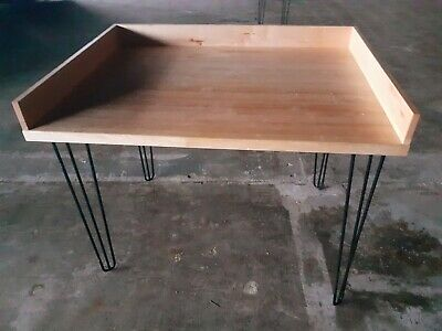 """Bakers Work Table NSF 48"""" x 36"""" Hard Wood Top with 4"""" inch Back Splash  4' x 3'"""