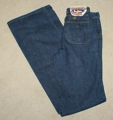 Vintage BNWT Lee Cooper Sz 8-10 Extra Long Flared Jeans - W27 R10.5 L36.5