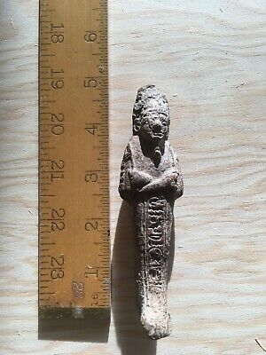 Ancient Egyptian UnGlazed Ushabti Shabti