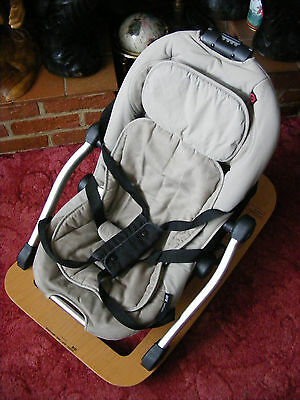 Beige Concord Rio Baby ChiId Children Rocker Bouncer Bouncing Chair Seat