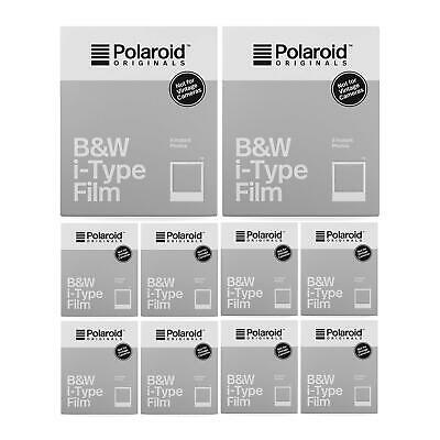Polaroid Originals B&W i-Type Film (10-Pack)