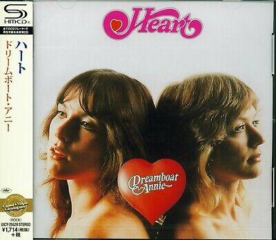 Heart Dreamboat Annie 2015 Japan Rmst Shm High Fidelity Cd - Brand New/Sealed