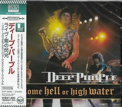DEEP PURPLE COME HELL OR HIGH WATER JAPAN 2013 RMST CD (Blu-Spec CD2) BRAND NEW!