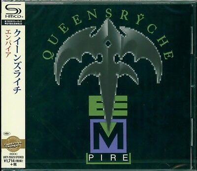 Queensryche Empire Shm Remastered Cd +3 - Japan 2015 - Brand New & Gift Perfect!