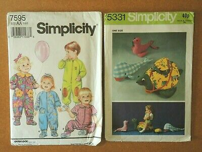 Simplicity Sewing Paper Patterns  7595 & 5331  x2