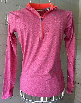Nike Dri-Fit Long Sleeved Running Shirt Women's Size XS in Excellent Condition