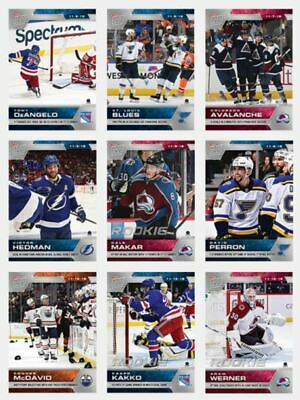 NHL Hockey 2019-20 Topps NOW 9 Sticker Pack Week 6