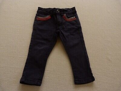 COTTON ON girls navy denim jeans size 1 - $4 post option