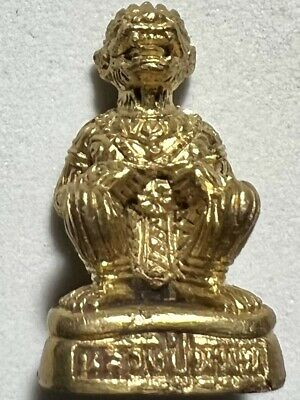 PHRA SOMDEJ LP MHOON RARE OLD THAI BUDDHA AMULET PENDANT MAGIC ANCIENT IDOL#26