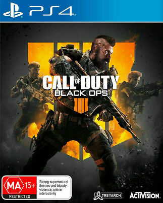 Call of Duty Black OPS IIII 4    PS4 Playstation 4 GAME GREAT CONDITION