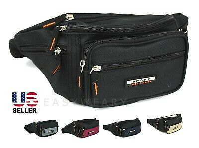 Fanny Pack Waist Bag Men Women Shoulder Hip Belt Bum Sport Travel Waterproof