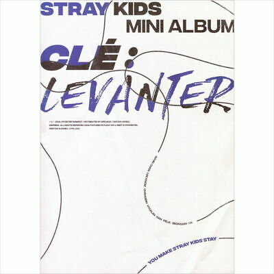 STRAY KIDS [CLE 3:LEVANTER] Album NORMAL CLE 3 Ver CD+Photo Book+Card+Pre-Order