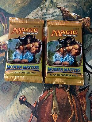 X2 MTG Magic Modern Masters 2013 Booster Packs Factory Sealed New From Box