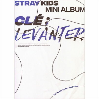 STRAY KIDS [CLE 3:LEVANTER] Album NORMAL CLE 3 Ver CD+POSTER+Book+Card+Pre-Order