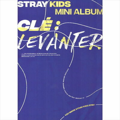 STRAY KIDS [CLE 3:LEVANTER] Album NORMAL LEVANTER CD+POSTER+Book+Card+Pre-Order
