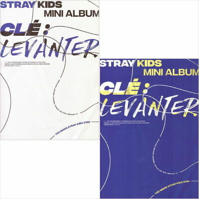 STRAY KIDS [CLE 3:LEVANTER] Album NORMAL 2 Ver SET+2p POSTER+Book+Card+Pre-Order