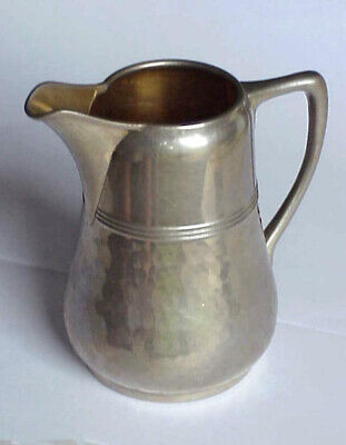 WMF Hammered Silverplate CREAMER / SMALL PITCHER