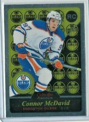 Connor MCDAVID 2015-16 O-Pee-Chee Platinum Retro Rookie Card OPC RC #R97
