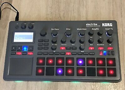 Korg Electribe 2 Music Production Station Synth Sequencer Drum Machine- As New!