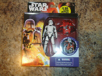 Star Wars The Force Awakens Space Mission Armor First Order Flametrooper NEW