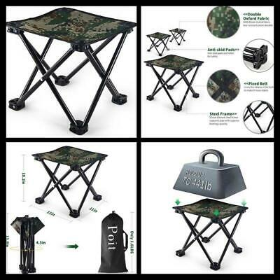 Cool 35Cm Portable Outdoor Folding Chair Outdoor Traveling Hiking Lamtechconsult Wood Chair Design Ideas Lamtechconsultcom
