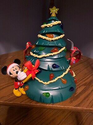 DISNEY PARKS 2019 Mickey Mouse Christmas Tree Popcorn Bucket