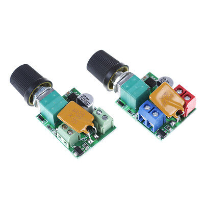 Mini DC Motor PWM Speed Controller 5A 4.5V-35V Speed Control Switch LED G3D