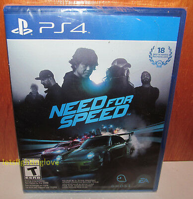 BRAND NEW SEALED Need for Speed PS4 Sony PlayStation 4 2015 NFS EA
