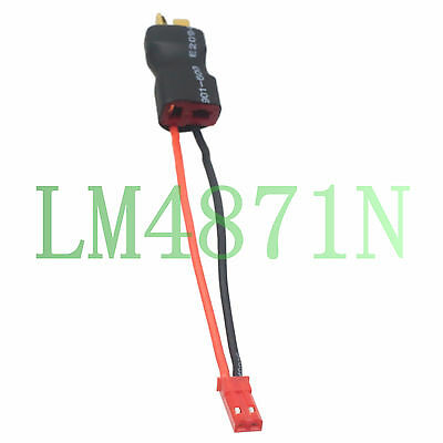 T-Plug Connector Deans Ultra JST M InLine Adapter Lipo Battery FPV Lights nylon