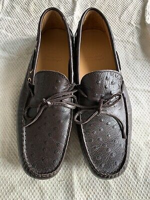 Sacoor Mens Leather Loafer Shoes Size 44