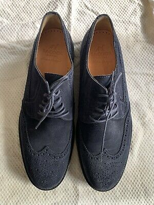 Sacoor Mens Suede Shoes Size 44 Made In Portugal