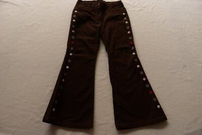GYMBOREE girls brown cord glitter jeans size 5 from USA