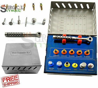 Dental Bone Expander Kit Sinus Lift With Saw Disks Surgical