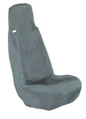 NEW HDD Universal Front Grey Seat Cover Waterproof reduces wear & tear