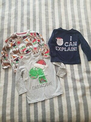 Boys Christmas Tops 18-24 Months