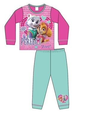 Paw Patrol Night Pyjamas Size Age 18 Months to 5 Years Girls Skye Official Pjs