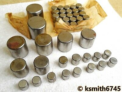 Hoffmann STEEL ROLLERS assorted sizes.  Made in England 💥