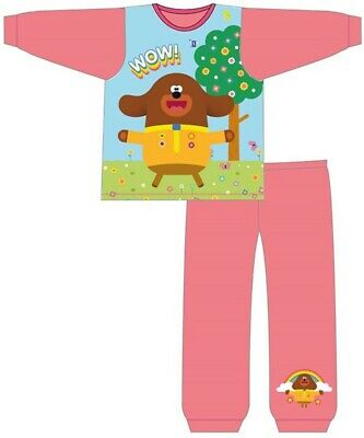 Official Hey Duggee Pyjamas Pajamas Pjs Girls Boys Toddlers 18 months to 5 Years