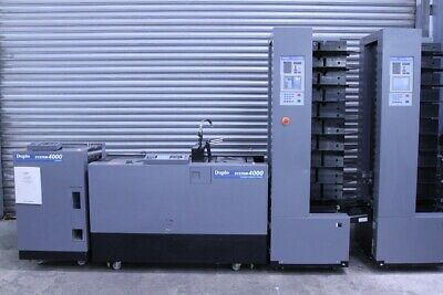 Duplo Twin Tower 4000 System Booklet Maker and Trimmer (#1033) (£14000 + VAT)