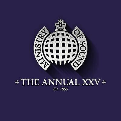 (MoS) ANNUAL XXV Deluxe - Ministry Of Sound [CD] Sent Sameday*