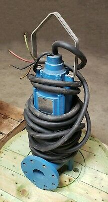 "Keen 10HP Non-Clog Pump 230V Single Phase 4"" discharge 66' head 340 gpm"