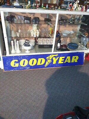 Double Sided Goodyear Sign