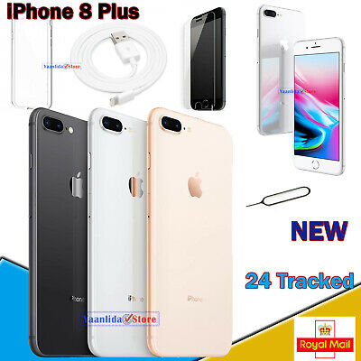 Apple iPhone 8 Plus 64GB 256GB Various Colours Unlocked SIM Free Smartphone NEW