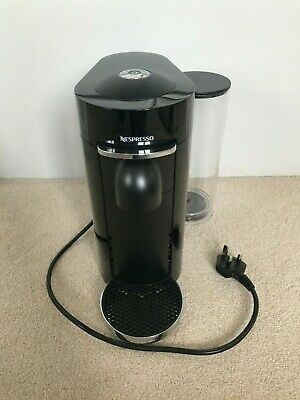 Nespresso Vertuo Plus Coffee Machine, Piano Black