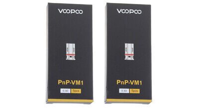 Authentic VOOPOO VINCI Replacement PnP-VM1 Coil Head (10-Pack)