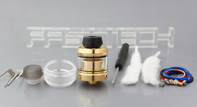 Authentic OFRF Gear RTA Rebuildable Tank Atomizer (Standard Edition) Gold