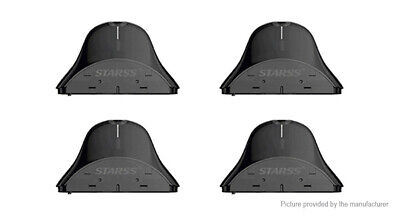 Authentic Starss Icon Replacement Pod Cartridge (4-Pack) Black