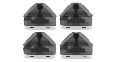 Authentic VOOPOO FINIC Fish Replacement Pod Cartridge (4-Pack) Black